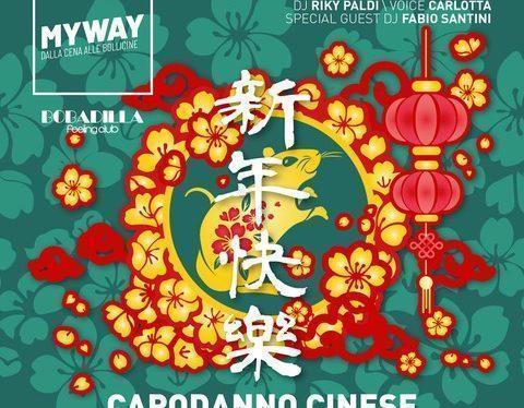 24/01 MyWay Capodanno Cinese, l'Anno del Topo fa ballare Bobadilla – Dalmine (BG)