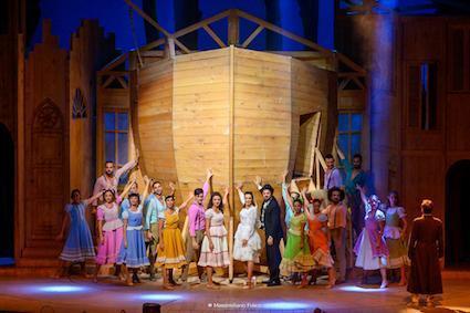 Teatro degli Arcimboldi: in scena la commedia musicale AGGIUNGI UN POSTO A TAVOLA
