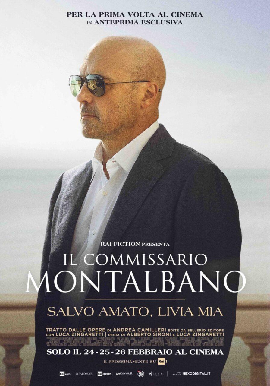 Il commissario Montalbano al cinema solo il 24, 25, 26 febbraio