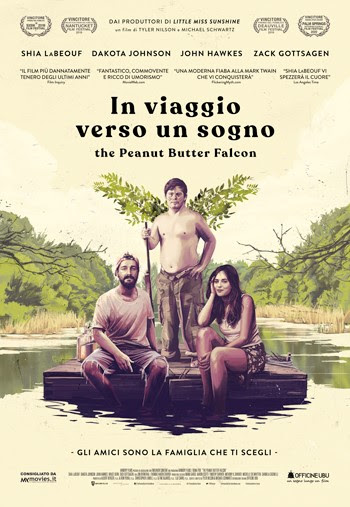 IN VIAGGIO VERSO UN SOGNO - THE PEANUT BUTTER FALCON , il film on the road per sognare senza limiti