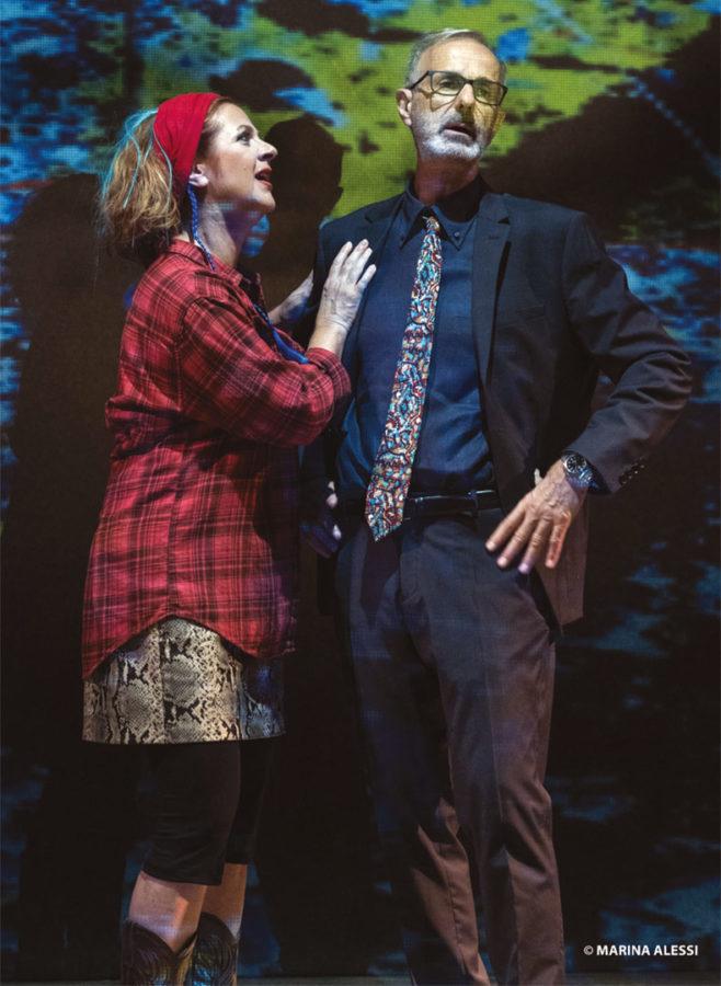 Teatro Carcano: Marina Massironi e Roberto Citran in Le Verità di Bakersfield