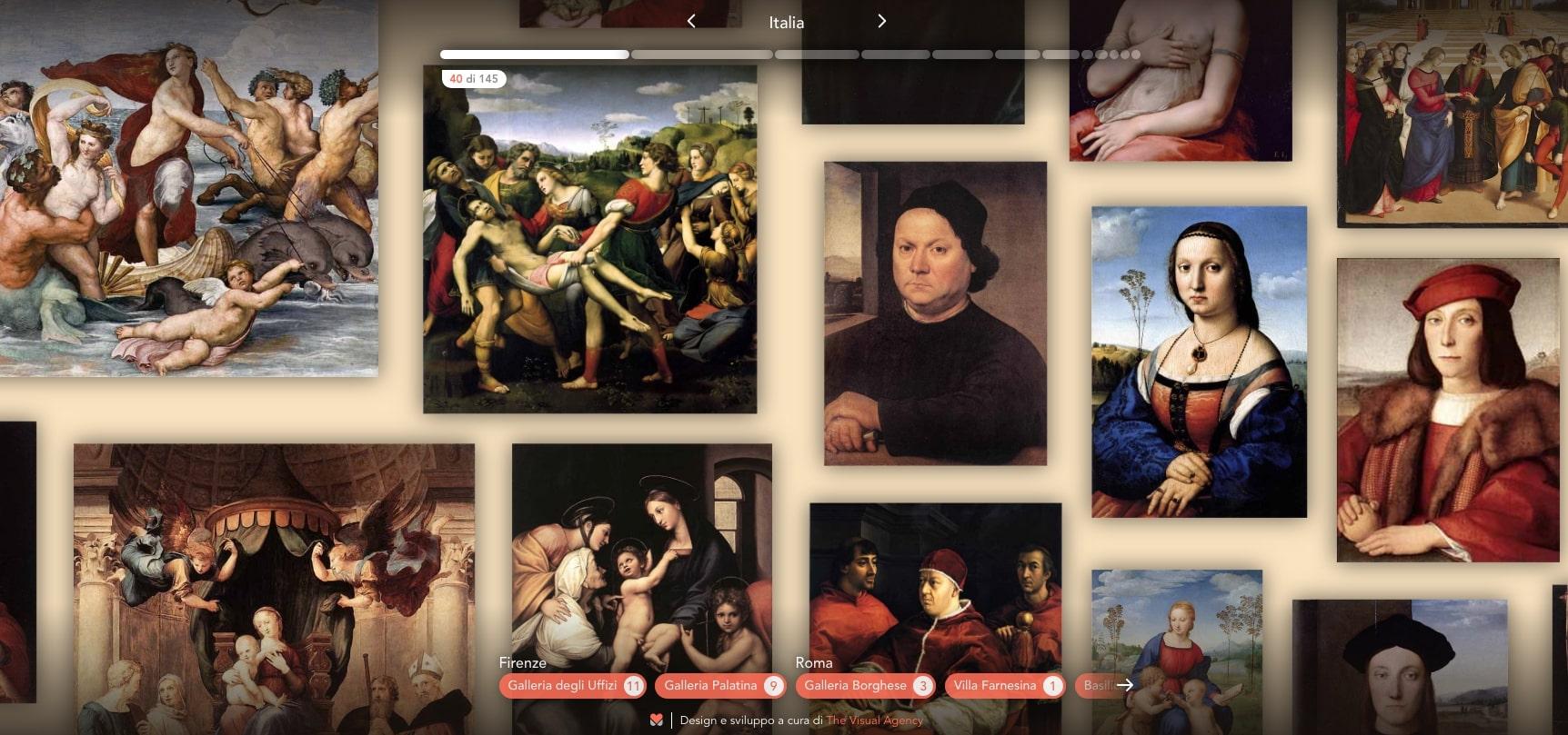 Musement lancia il museo virtuale, alla scoperta di Raffaello