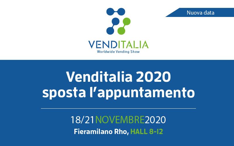 Nuova data per Venditalia 2020: dal 18 al 21 novembre 2020 a Fieramilano