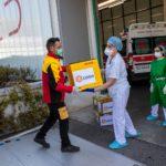 Coronavirus: consegnati a Bergamo altri 350mila dispositivi di protezione
