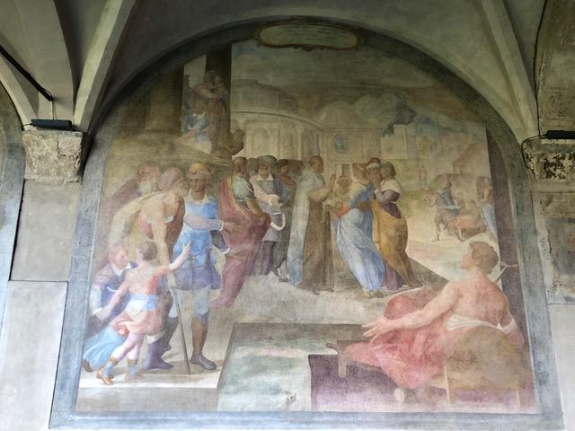 Rigoni di Asiago restaura le lunette del Chiostro Grande di Santa Maria Novella
