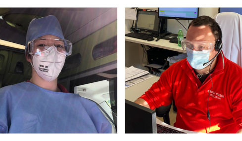 Essilor® Italia dona occhiali protettivi al personale sanitario