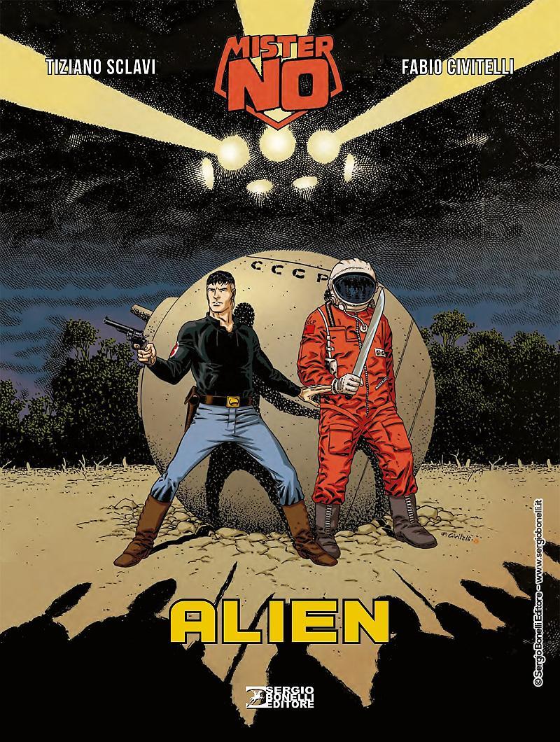 Sergio Bonelli Editore presenta Mister No. Alien