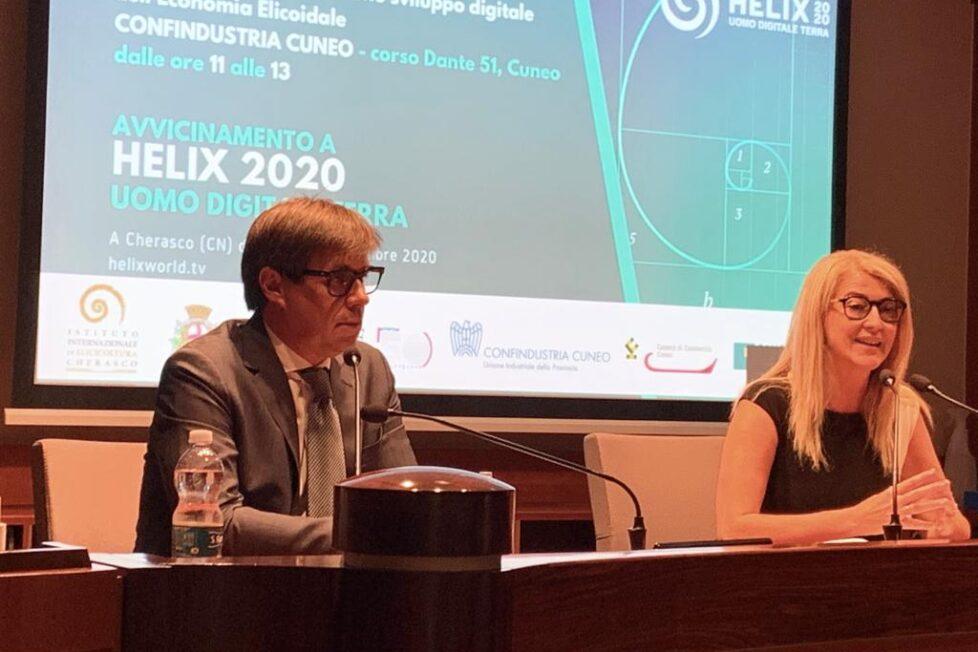 Nasce la filosofia elicoidale - A settembre l'appuntamento con Helix 2020