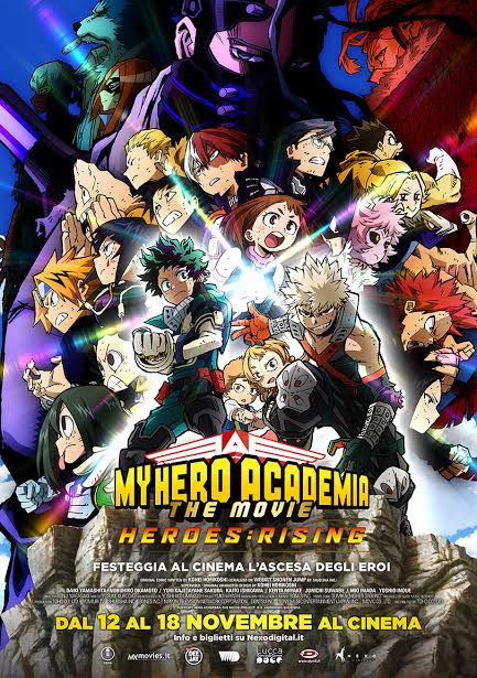 MY HERO ACADEMIA. THE MOVIE 2 - HEROES: RISING arriva al cinema