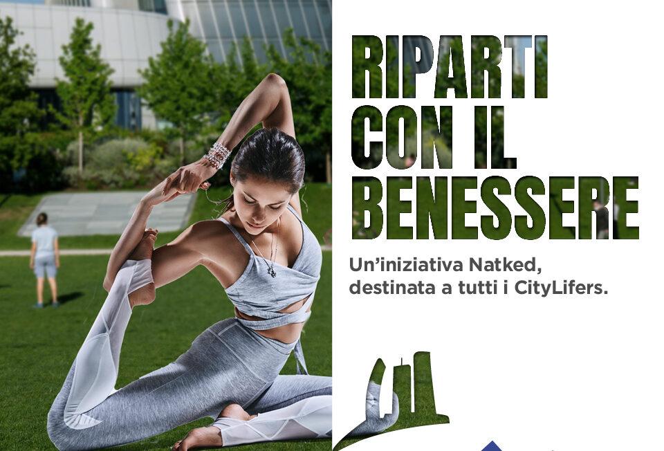 CityLife Shopping District: in forma con gli allenamenti NATKED