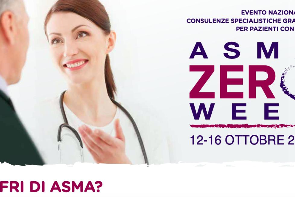 Asma Zero Week: attivo il Numero Verde per una visita gratuita