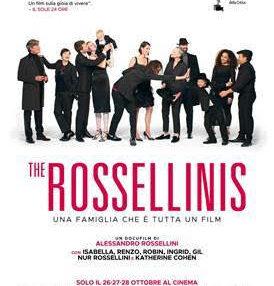 The Rossellinis al cinema ad ottobre