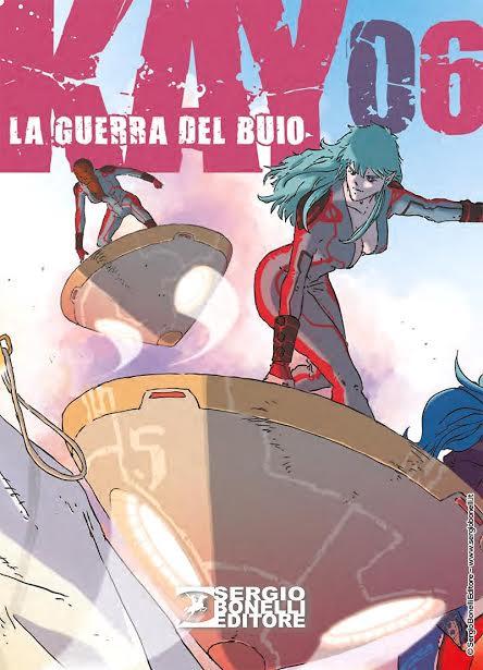 Sergio Bonelli Editore presenta Kay. La Guerra del Buio