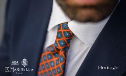 La nuova collezione di cravatte Marinella Heritage e Heritage Rétro per abbinare tutte le giacche