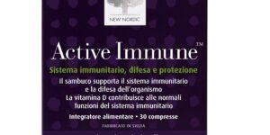 Active Immune, la compressa New Nordic che protegge il sistema immunitario