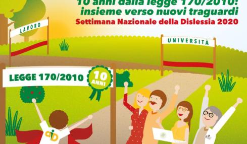 Settimana Nazionale della Dislessia quest'anno totalmente on line