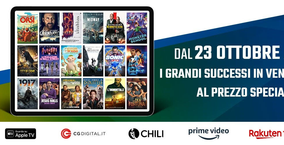 Partono i Digital Movie Days, festa del digitale