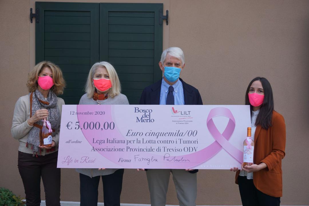 Bosco del Merlo e LILT Treviso uniti per la prevenzione