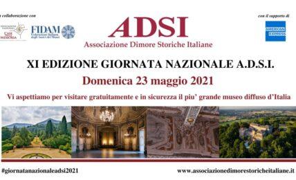 Giornata nazionale Associazione Dimore Storiche Italiane torna il 23 maggio