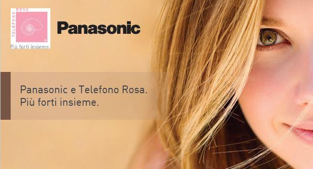 Panasonic e Telefono Rosa insieme per le donne