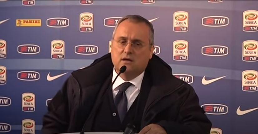 Claudio Lotito - screenshot youtube