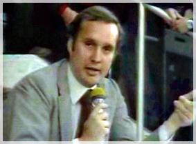 Giampiero Galeazzi da inviato in televisione
