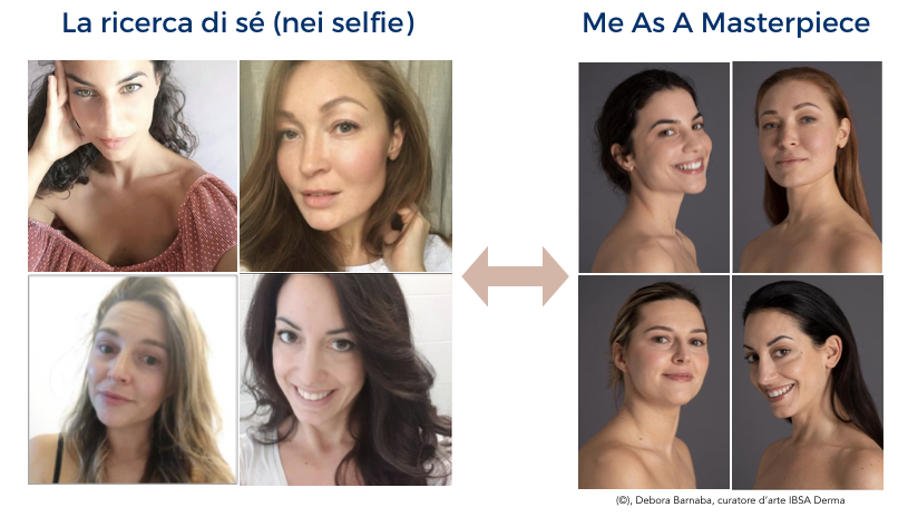 Me As A Masterpiece di IBSA Derma, mette in luce la bellezza senza filtri