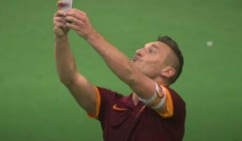 Francesco Totti - foto youtube screenshot