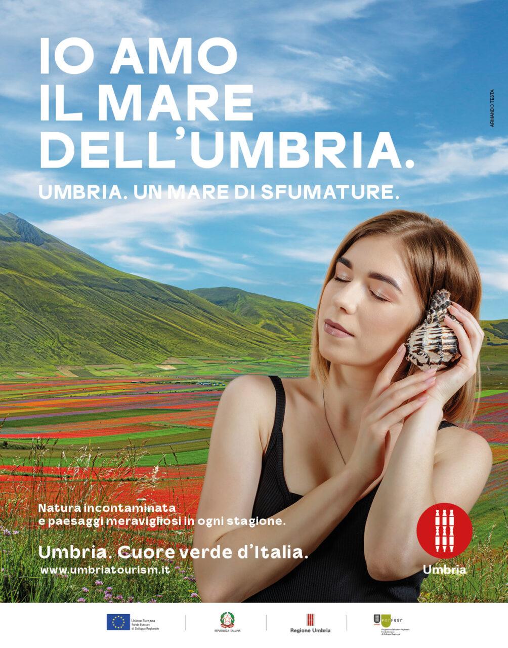 Io amo il mare dell'Umbria, la nuova campagna promozionale