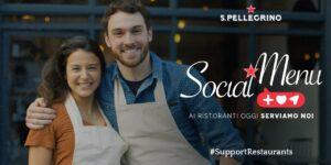 S.Pellegrino lancia #SupportRestaurants