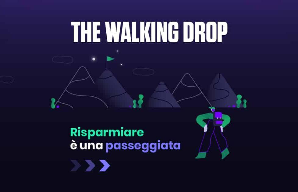 Flowe lancia la campagna The Walking Drop