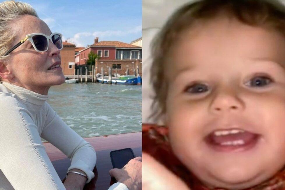 Sharon Stone ha annunciato che il nipotino