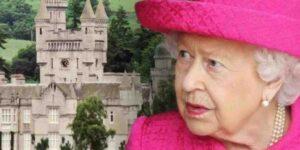 La regina Elisabetta al castello