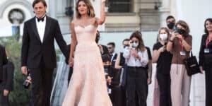 Serena Rossi sul red Carpet